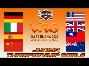 JUNIOR CHAMPIONSHIP GOALS WORLD ROLLER GAME 2019