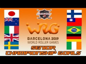 SENIOR CHAMPIONSHIO GOALS WORLD ROLLER GAME 2019