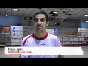 Declaraciones post-partido.Vendrell-Vic